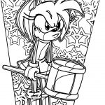 Awful Amy Rose Coloring Page