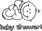 Baby Shower Pictures Coloring Page
