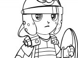 Cartoon Roman Soldier Pictures Coloring Page