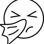 Cold Emoticon Emology Face Coloring Page