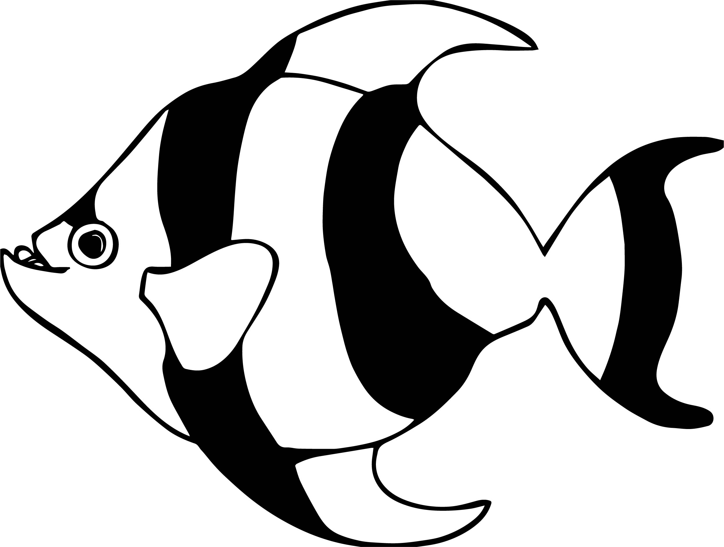 Defendant Fish Food Pictures Coloring Page