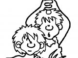 Early Humans Duo Coloring Page