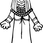 Egypt Woman Coloring Page