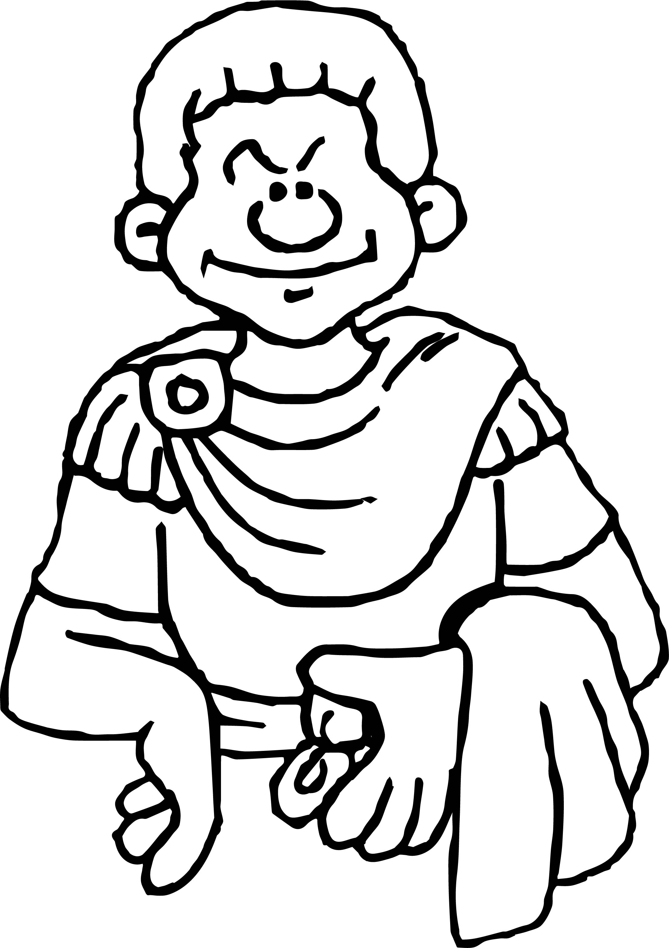 Empire Coloring Page