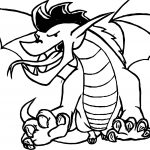 Fire American Dragon Jake Long Coloring Page