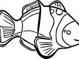 Fish Animal Kingdom Sea Animal Coloring Page