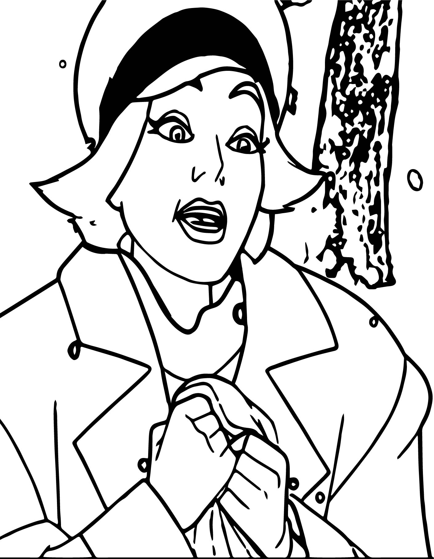 Forest Anastasia Coloring Page