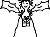 Free Christmas Christmas Angels Coloring Page