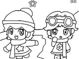 Go Baby Daisy Coloring Page