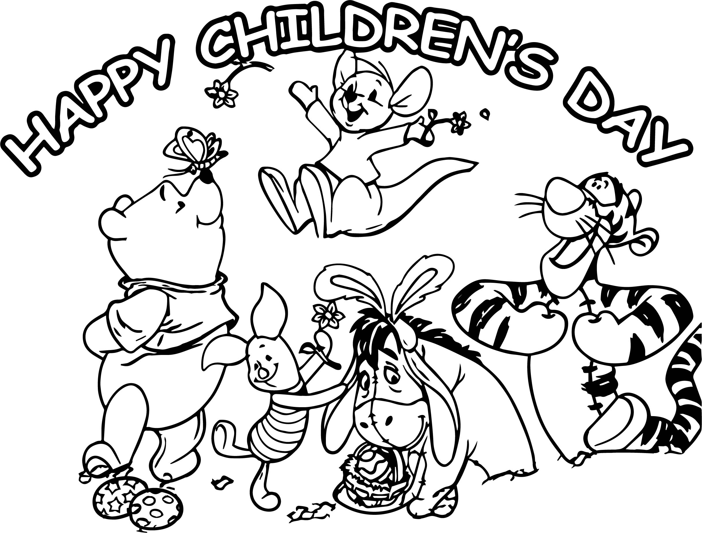 Happy Childrens Day Animal Kingdom Graphic For Share On ...