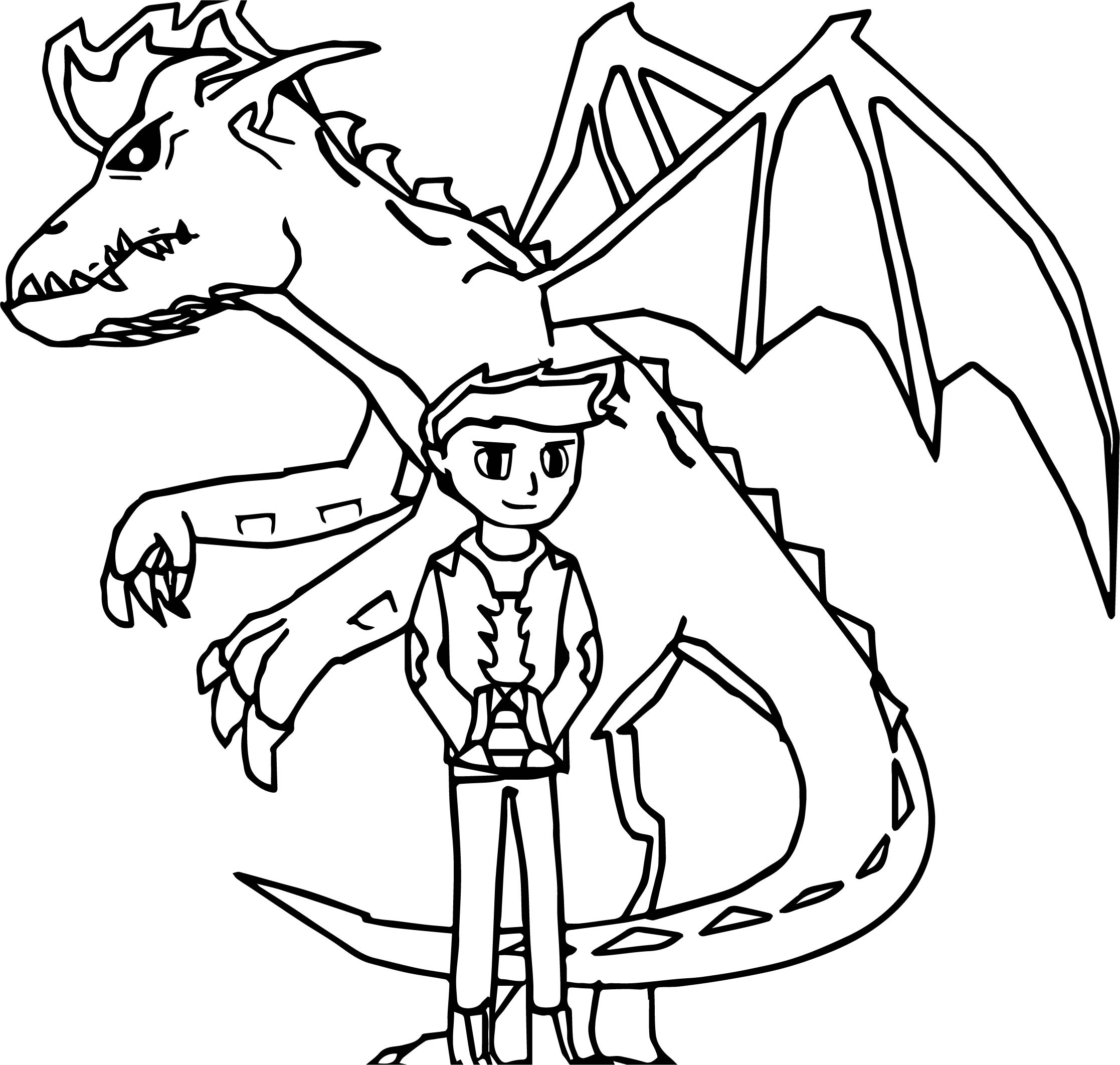 Imposing American Dragon Jake Long Coloring Page