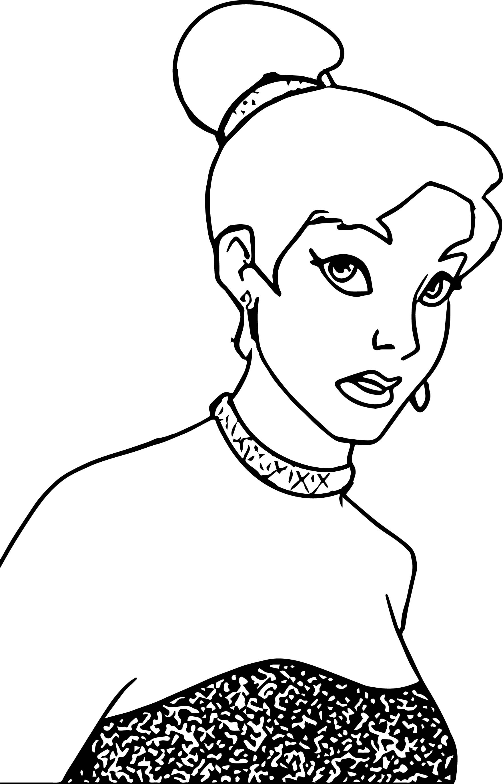 Just Anastasia Image Coloring Page