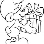Just Jokey Smurf Coloring Page