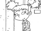 Kimi Finster All Grown Up Coloring Page