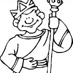 King Rome Coloring Page