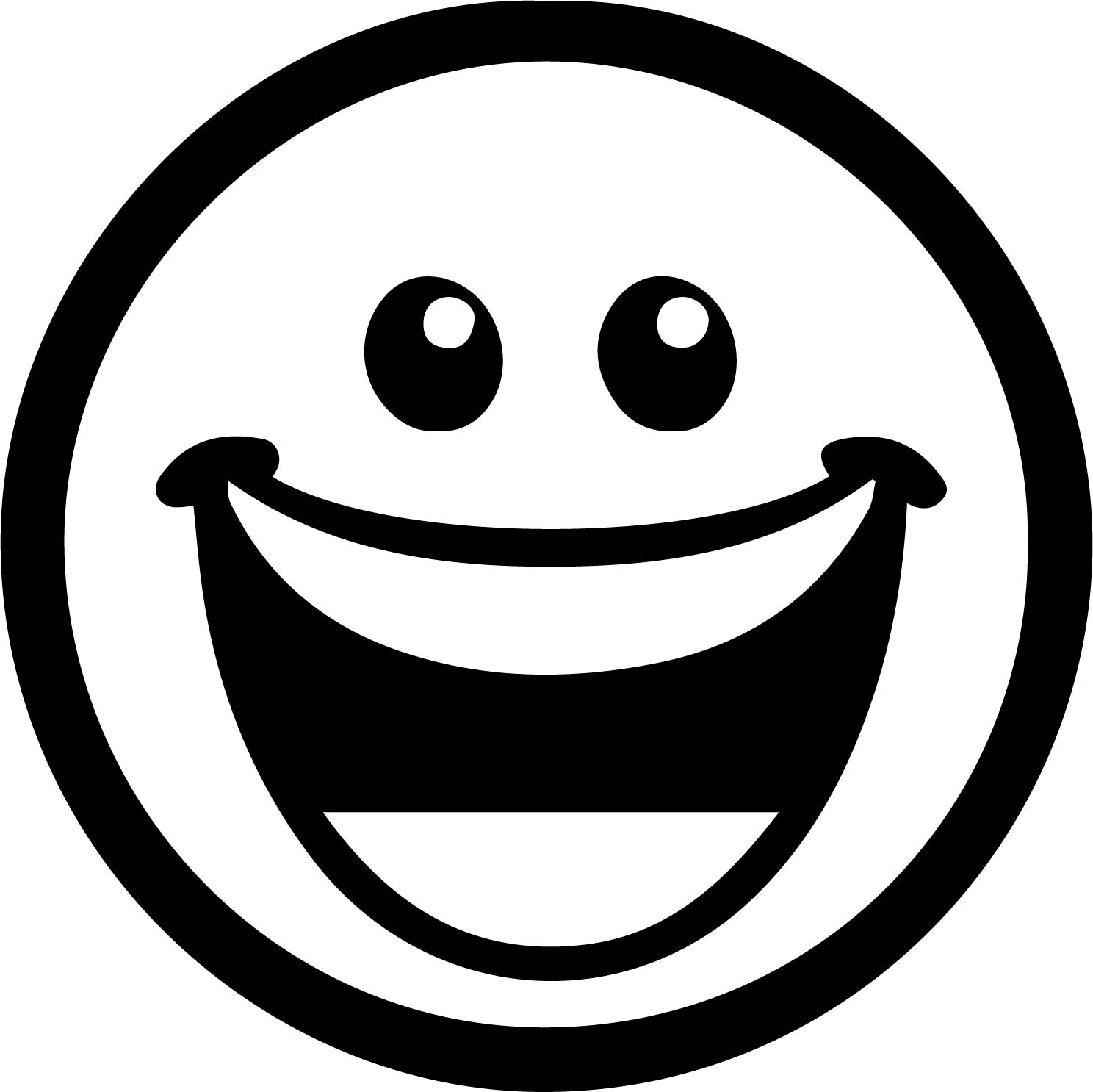 Next Emoticon Laughing Face Coloring Page