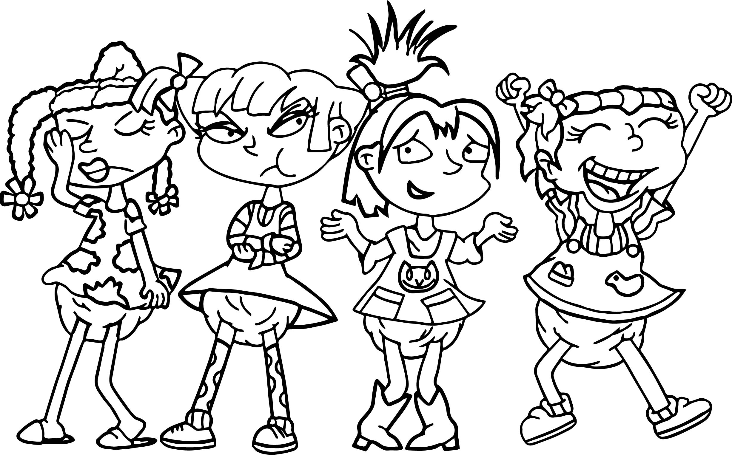 Not All Grown Up Toon Orochi Coloring Page