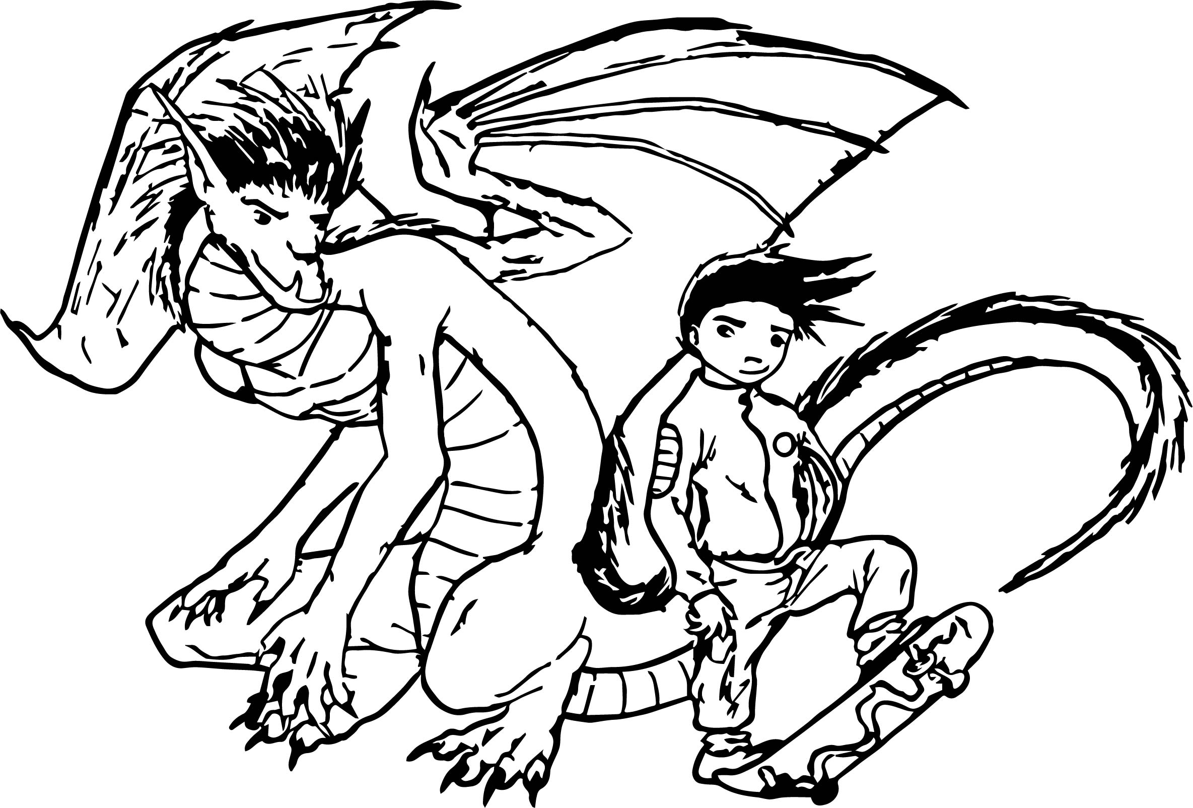 americon dragon coloring pages - photo#19
