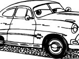Old Cars Coloring Page