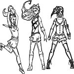 Powerpuff Girls All Grown Up Xombie Octopus Queen Coloring Page