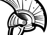 Roman Helmet Vip Coloring Page