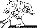 Rome Baths Coloring Page