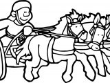 Rome Chariot Coloring Page