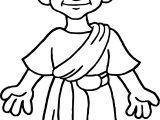 Rome Cicero Coloring Page