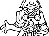 Rome Soldier Coloring Page
