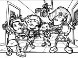 Rug Rats All Grown Up All Grown Up School Coloring Page