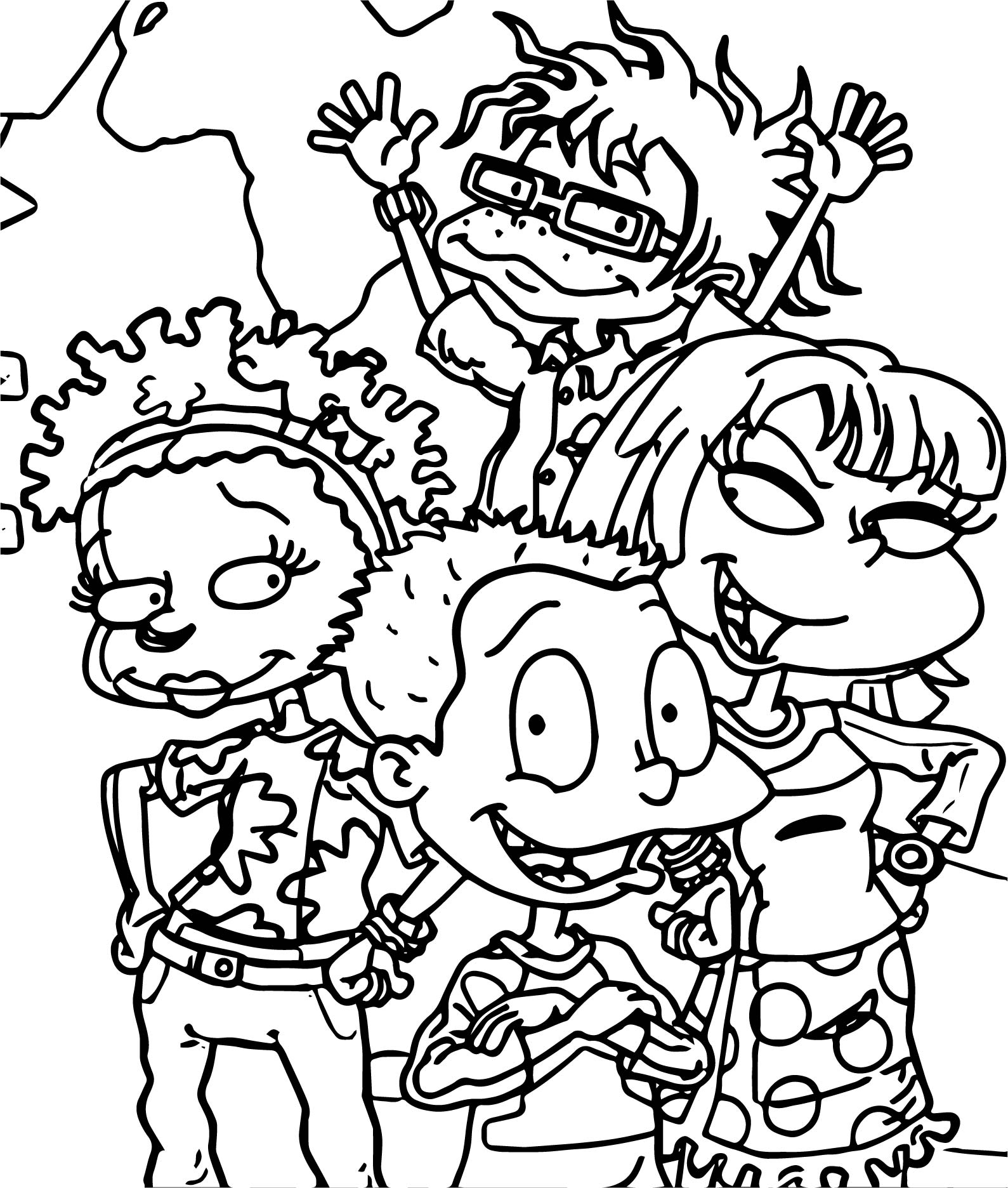 Rugrats all grown up all grown up coloring page for Grown up coloring pages