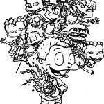 Rugrats All Grown Up All Grown Up Soda Coloring Page