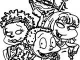 Rugrats All Grown Up Coloring Page