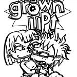 Rugrats All Grown Up Rugrats Coloring Page