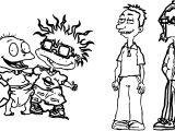 Rugrats Coloring Page