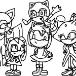 Smaller Amy Rose Coloring Page