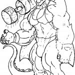 Sport Sketch American Dragon Jake Long Coloring Page