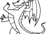 The 2nd American Dragon Coloring Page