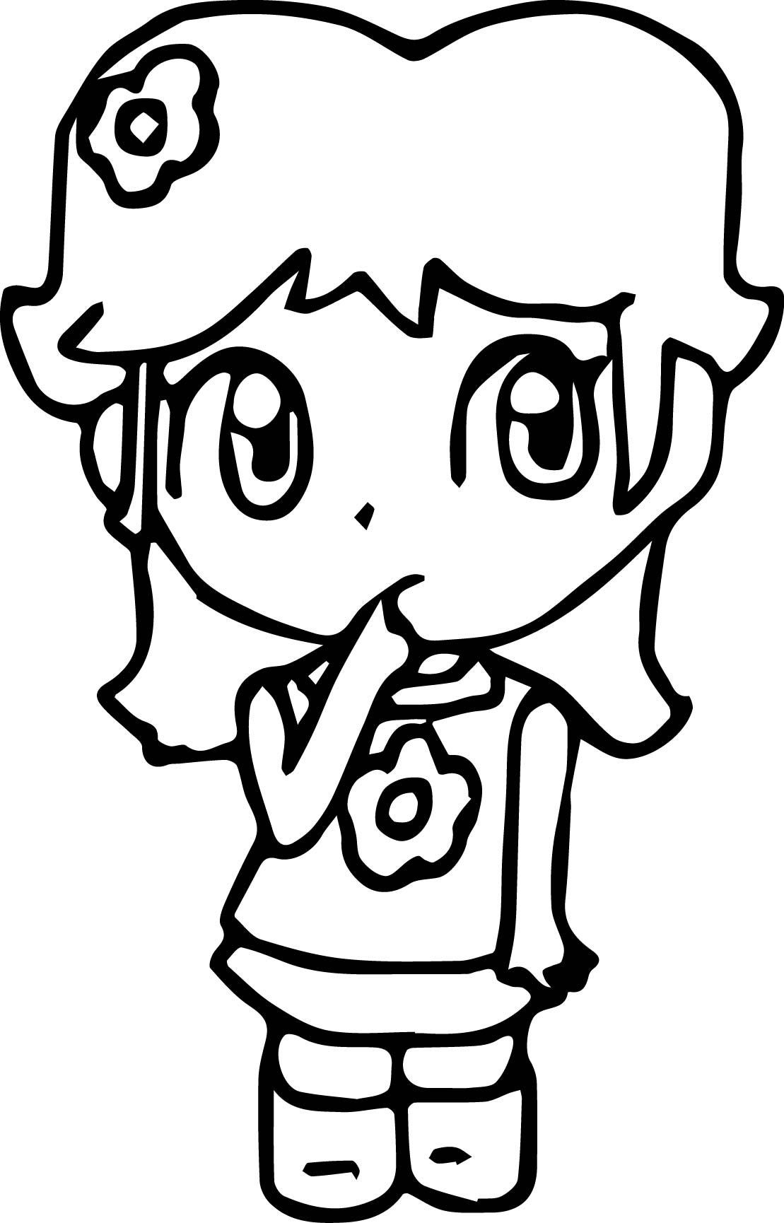 thinking baby daisy coloring page wecoloringpage