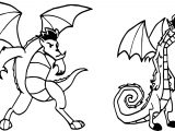 Wide And Big American Dragon Jake Long Coloring Page
