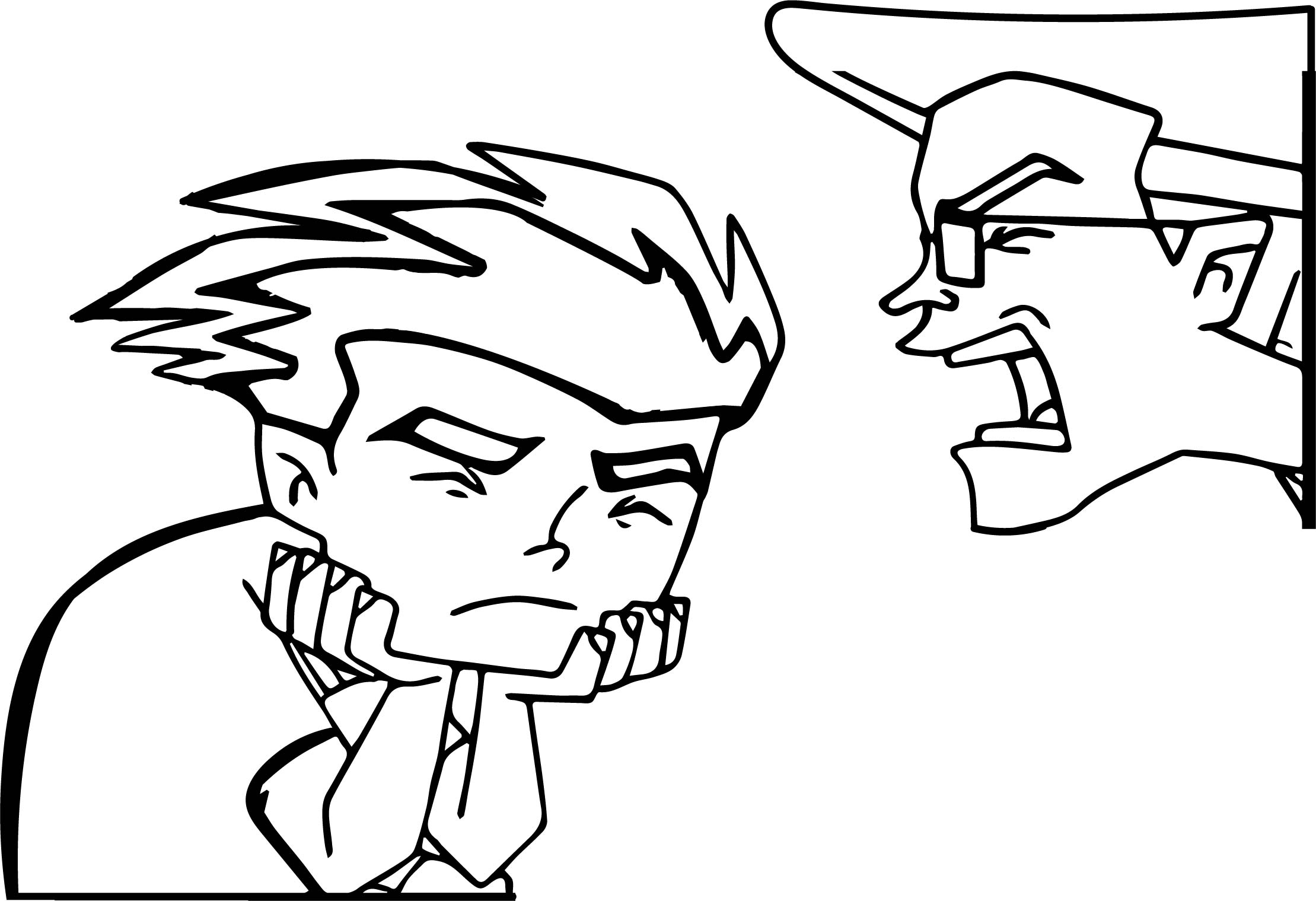 Yell Some Of Jake American Dragon Jake Long Coloring Page