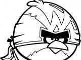 ABF Wingman Angry Birds Coloring Page