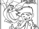 American Dragon Jake Long Happy Time Coloring Page