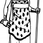 Ancient Priest Coloring Page