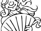 Ancient Rome Girl Coloring Page