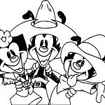 Animaniacs Cowboy Coloring Page