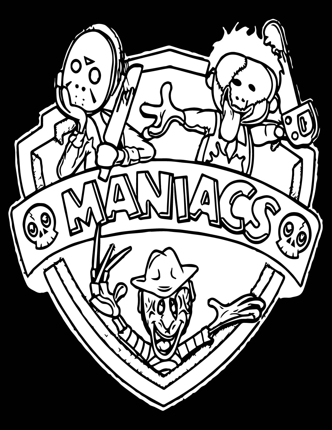 Animaniacs Movie Monster Mashup Coloring Page