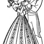 Anna Hans Dancing Coloring Page