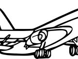 Any Airplane Coloring Page