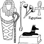 Any Ancient Egypt Coloring Page